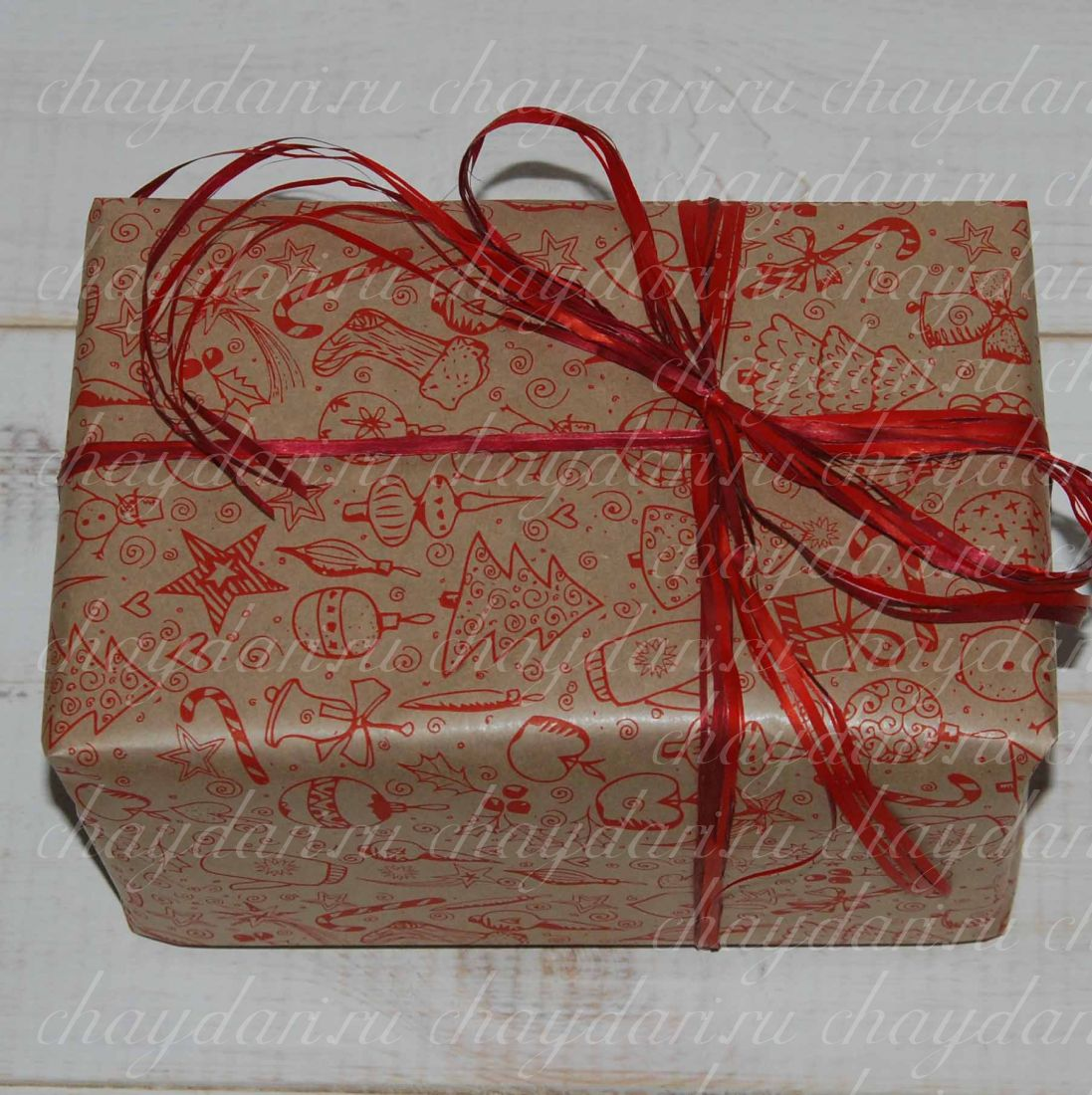 "Коробка из чая ""Новогодний сюрприз"""